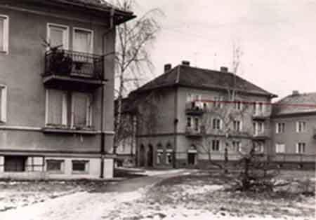 Dům, ve kterém byla Marcelka zavražděna